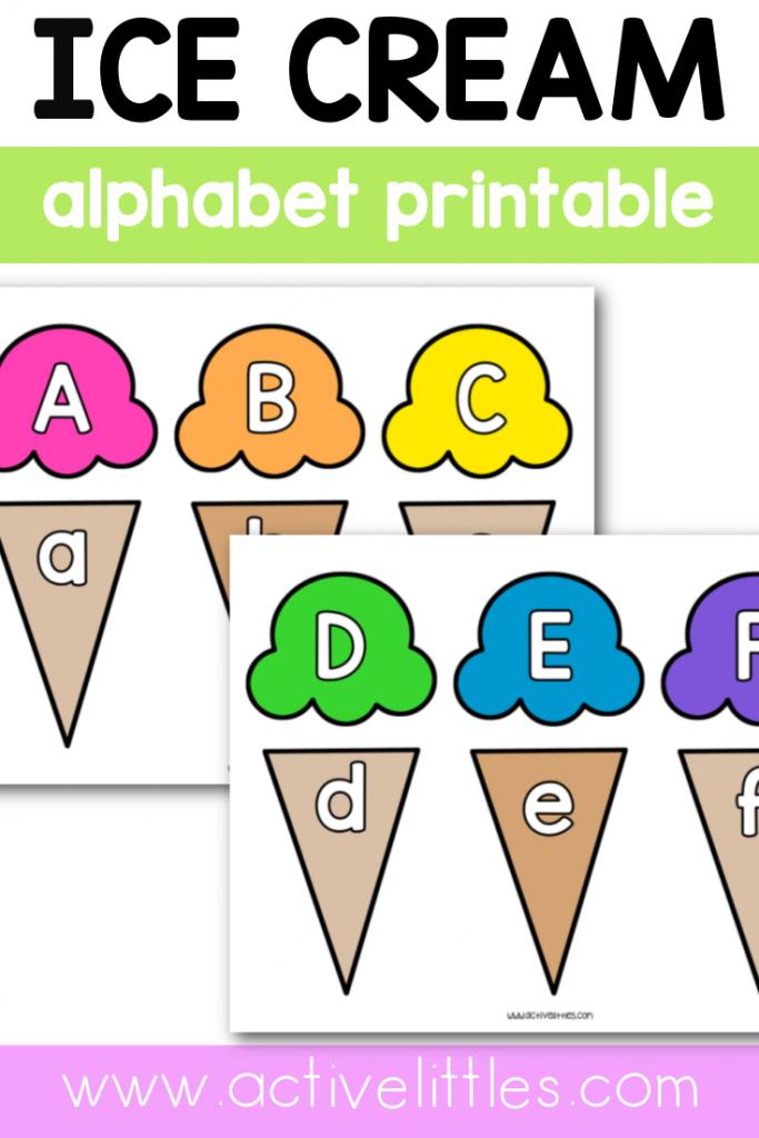 ice cream printable for kids preschool