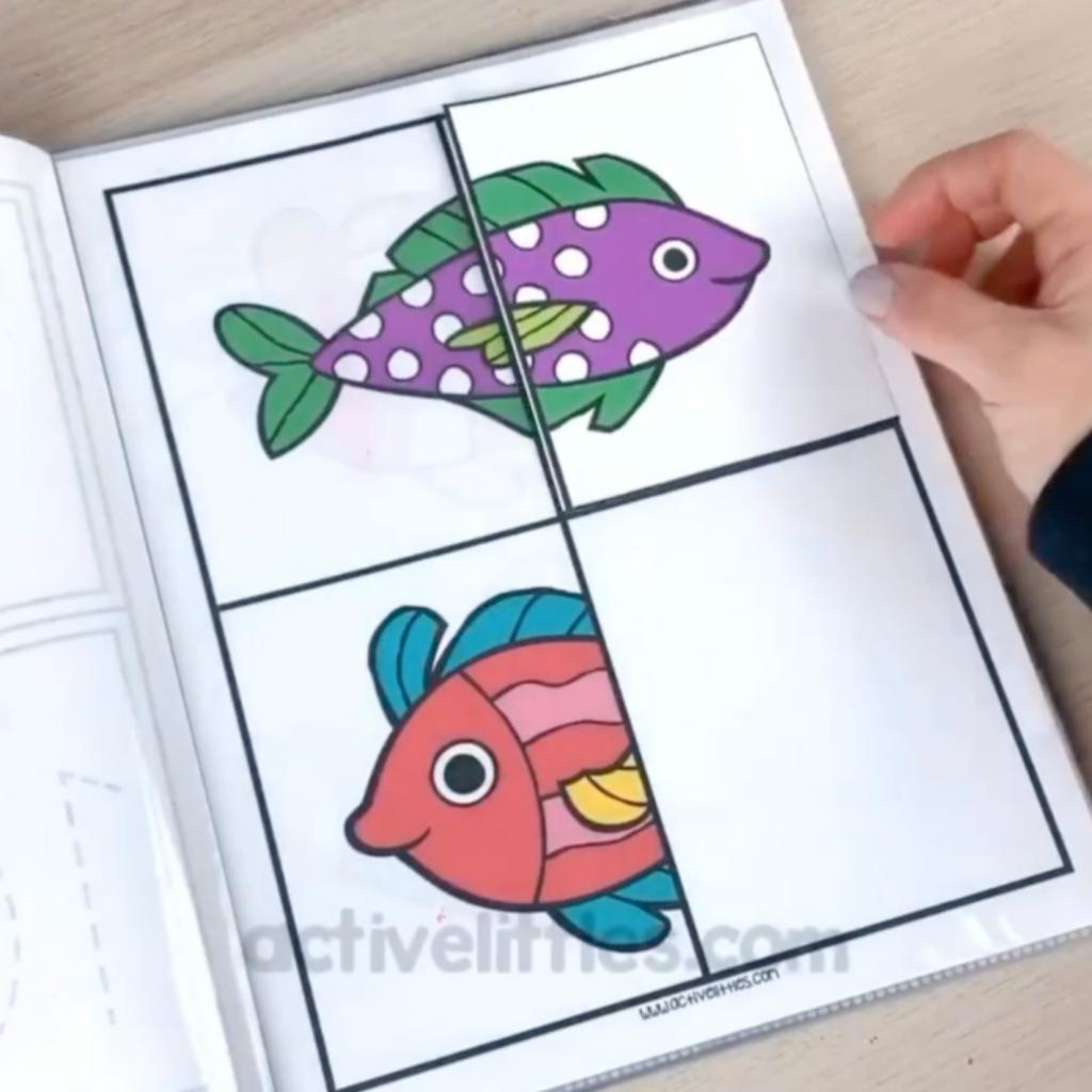 ocean preschool packet
