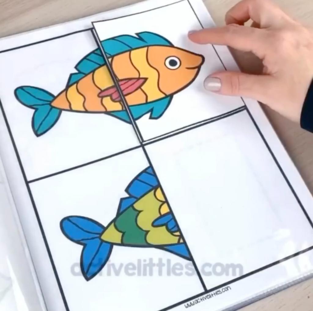 ocean theme preschool packet