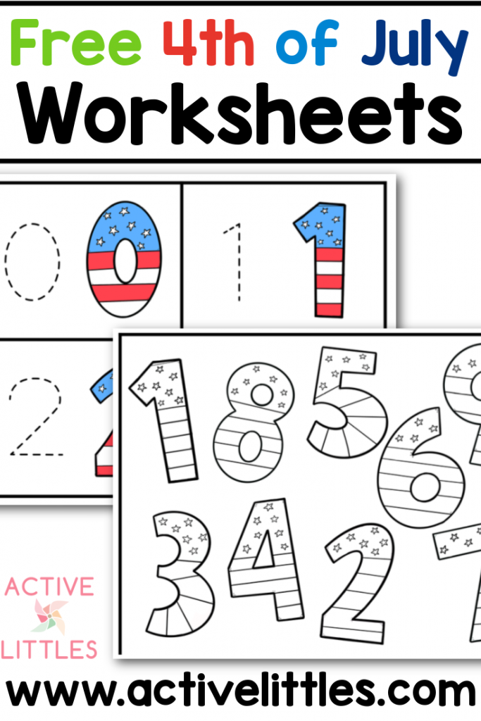 free 4th of july worksheets