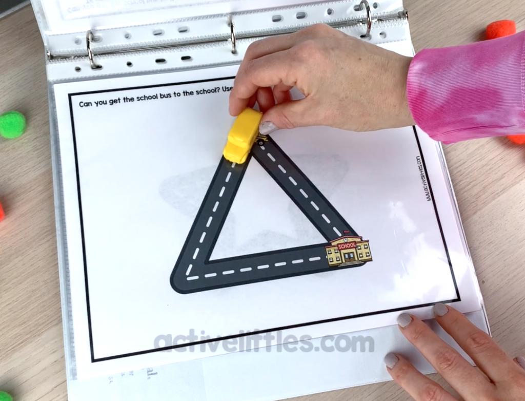 back to school preschool activity binder
