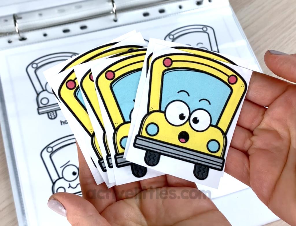 back to school preschool activity binder book